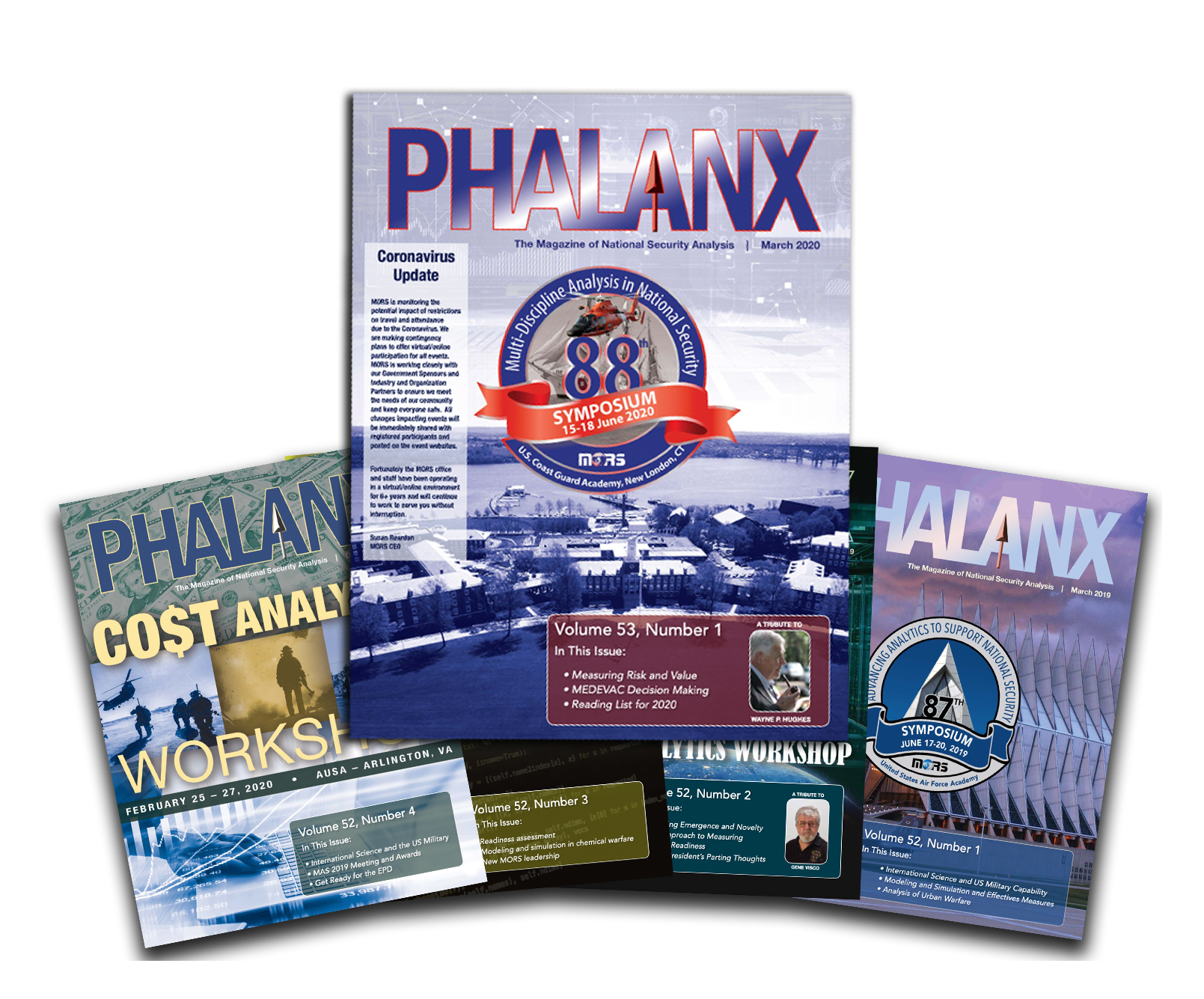Phalanx Current and Past Issues